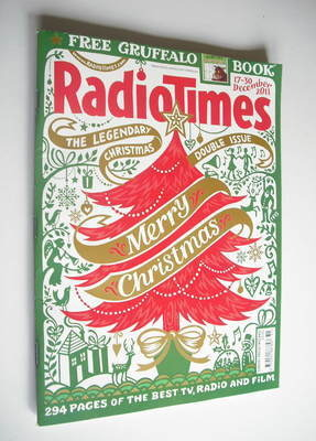 <!--2011-12-17-->Radio Times magazine - Christmas Issue (17-30 December 201