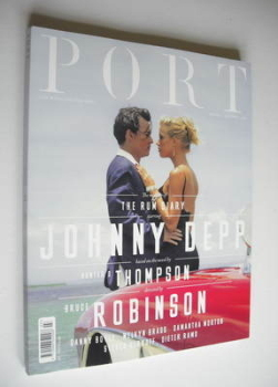 PORT magazine - Johnny Depp and Amber Heard cover (Autumn 2011 - Issue 3)