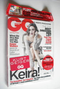 British GQ magazine - March 2012 - Keira Knightley cover