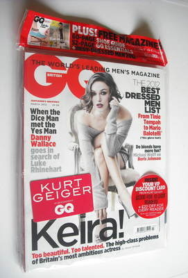 <!--2012-03-->British GQ magazine - March 2012 - Keira Knightley cover