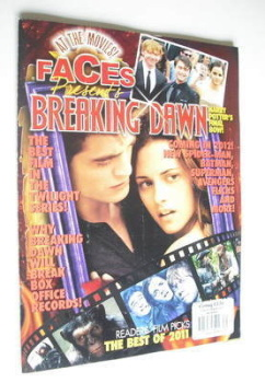 Faces magazine - Breaking Dawn cover (Autumn/Winter 2011)
