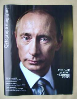 <!--2012-02-25-->Telegraph magazine - Vladimir Putin cover (25 February 201