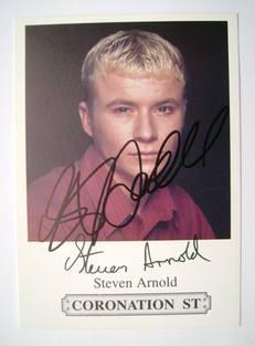 Steven Arnold autograph