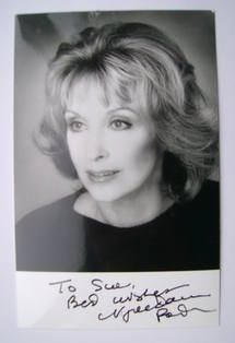 Vanessa Redgrave autograph