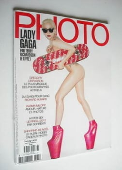 PHOTO magazine - December 2011 - Lady Gaga cover