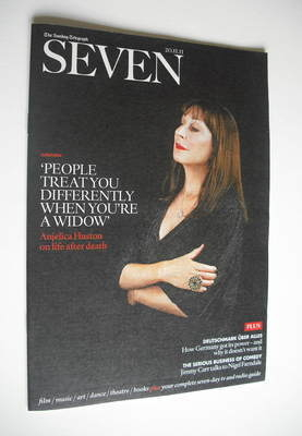 Seven magazine - Anjelica Huston cover (20 November 2011)