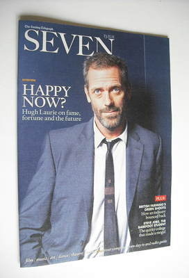 Seven magazine - Hugh Laurie cover (13 November 2011)