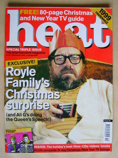 <!--1999-12-16-->Heat magazine - Ricky Tomlinson cover (16 December 1999 -
