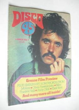 Disco 45 magazine - No 95 - September 1978 - David Essex cover