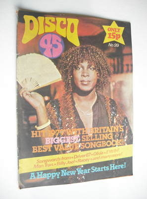 <!--1979-01-->Disco 45 magazine - No 99 - January 1979