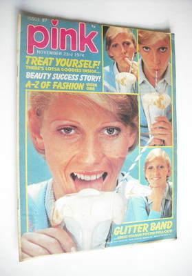 Pink magazine - 23 November 1974