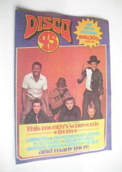 Disco 45 magazine - No 113 - March 1980