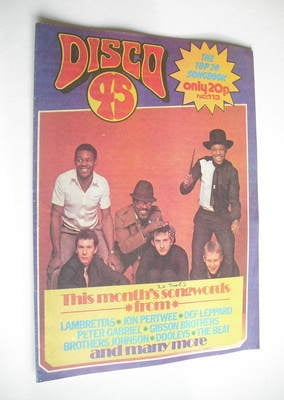 <!--1980-03-->Disco 45 magazine - No 113 - March 1980