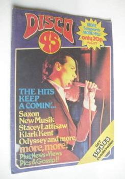 Disco 45 magazine - No 117 - July 1980