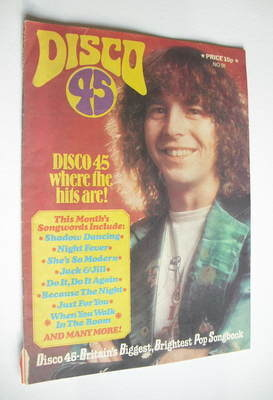 <!--1978-05-->Disco 45 magazine - No 91 - May 1978