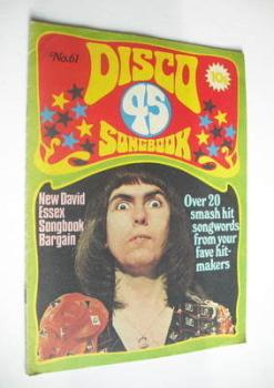 Disco 45 magazine - No 61 - November 1975