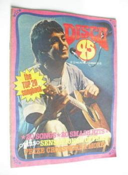 Disco 45 magazine - No 70 - August 1976 - Paul McCartney cover