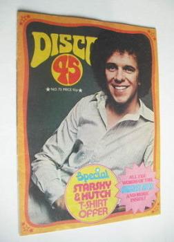Disco 45 magazine - No 73 - November 1976 - Leo Sayer cover