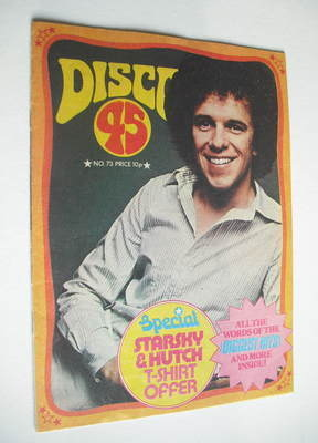 <!--1976-11-->Disco 45 magazine - No 73 - November 1976 - Leo Sayer cover