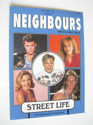 <!--1989-01-->Neighbours magazine - Who's Who (No. 9)