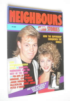 Neighbours Star Stories magazine - Kylie Minogue and Jason Donovan cover