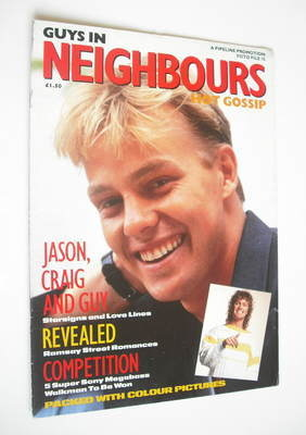 Guys In Neighbours Hot Gossip magazine - Jason Donovan cover (1989)