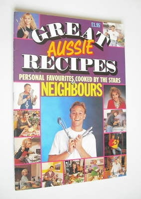 <!--1988-01-->Great Aussie Recipes magazine - Cooked By The Stars Of Neighb