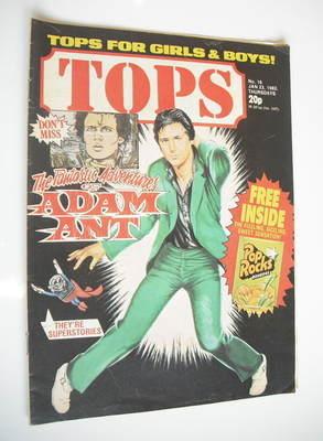 Tops magazine - 23 January 1982 - Shakin' Stevens cover (No. 16)