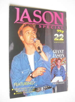 Jason Donoval Special poster magazine