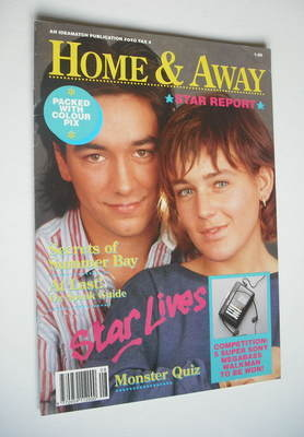 Home & Away Star Report magazine (1989)