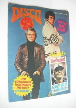Disco 45 magazine - No 77 - March 1977 - David Soul and Paul Michael Glaser cover