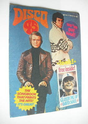 <!--1977-03-->Disco 45 magazine - No 77 - March 1977 - David Soul and Paul