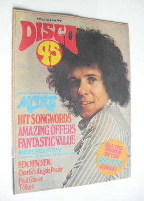 <!--1977-05-->Disco 45 magazine - No 79 - May 1977 - Leo Sayer cover
