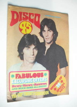 Disco 45 magazine - No 81 - July 1977 - The Alessi Brothers cover