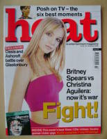 <!--2000-01-20-->Heat magazine - Britney Spears cover (20-26 January 2000 - Issue 49)
