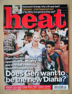 Heat magazine - Geri Halliwell cover (3-9 February 2000 - Issue 51)