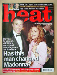 <!--2000-02-24-->Heat magazine - Madonna and Guy Ritchie cover (24 February