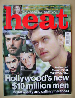 <!--2000-03-02-->Heat magazine - Jude Law cover (2-8 March 2000 - Issue 55)