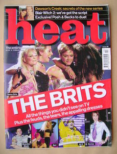 <!--2000-03-09-->Heat magazine - The Brits cover (9-15 March 2000 - Issue 5