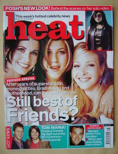 Heat magazine - Friends cover (15-21 July 2000 - Issue 74)