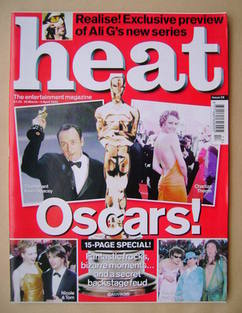 <!--2000-03-30-->Heat magazine - Oscars! cover (30 March - 5 April 2000 - I