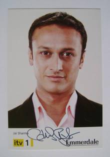 Chris Bisson autograph (hand-signed Emmerdale cast card)