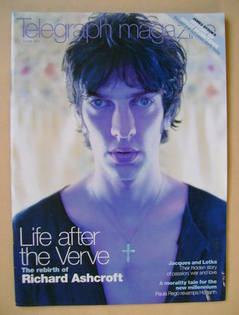 <!--2000-06-03-->Telegraph magazine - Richard Ashcroft cover (3 June 2000)