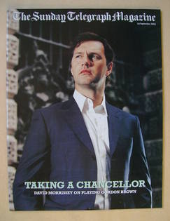 The Sunday Telegraph magazine - David Morrissey cover (14 September 2003)