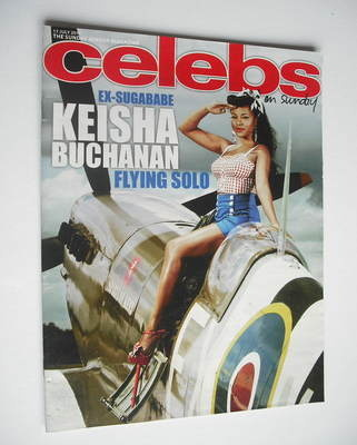 <!--2011-07-17-->Celebs magazine - Keisha Buchanan cover (17 July 2011)