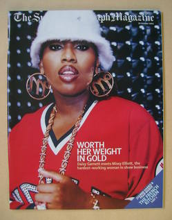 The Sunday Telegraph magazine - Missy Elliott cover (20 October 2002)