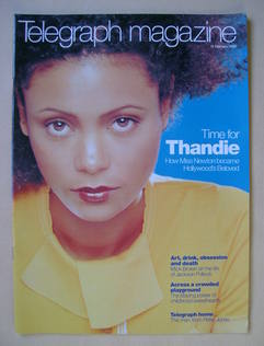 <!--1999-02-13-->Telegraph magazine - Thandie Newton cover (13 February 199