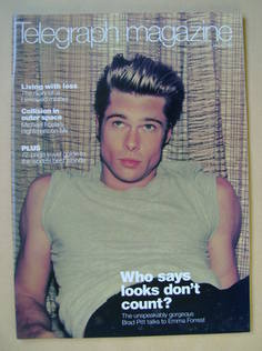 <!--1999-01-02-->Telegraph magazine - Brad Pitt cover (2 January 1999)
