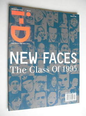 <!--1995-02-->i-D magazine - The New Faces Issue (February 1995)