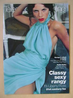 <!--2000-05-13-->Telegraph magazine - Liberty Ross cover (13 May 2000)